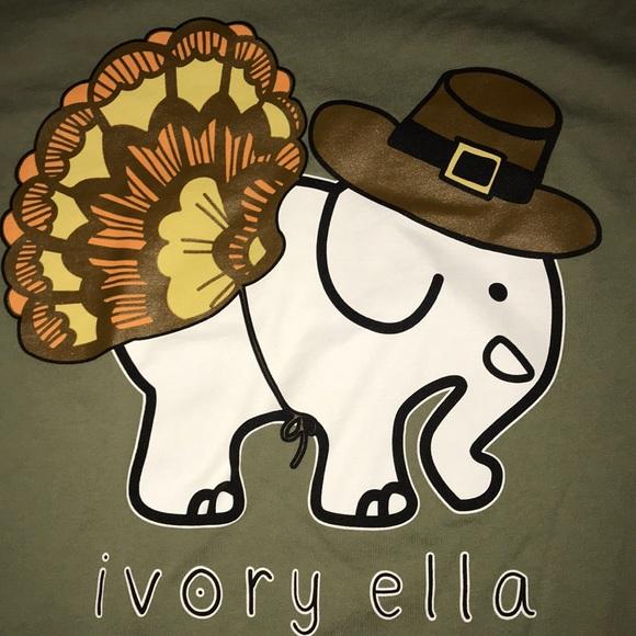 ad583e54ecc42 ivory ella Tops - Ivory Ella Thanksgiving Shirt